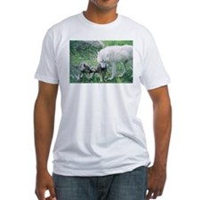 """""""Mother Wolf With Two Cubs"""" T-Shirt"""
