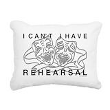 Drama Rectangle Canvas Pillows
