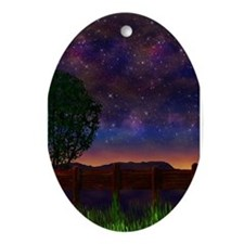 The Nightsky Ornament (Oval)