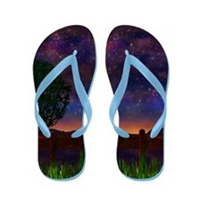 The Nightsky Flip Flops