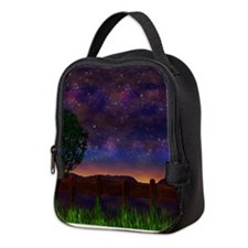 The Nightsky Neoprene Lunch Bag