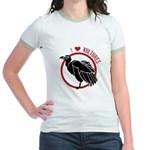 Love Vultures Jr. Ringer T-Shirt