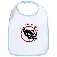 Love Vultures Bib