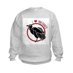 Love Vultures Kids Sweatshirt