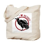 Love Vultures Tote Bag