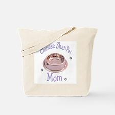 Sharpei Mom Tote Bag