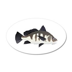 Black Drum f Wall Decal