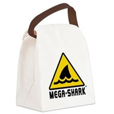 Mega Shark Canvas Lunch Bag