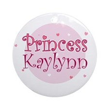 Kaylynn Ornament (Round)