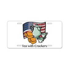 Tea Aluminum License Plate