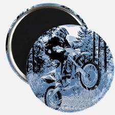 """""""Fun in the Woods"""" (Blue) Magnet"""