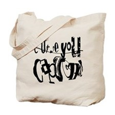 Curse You Captcha! Tote Bag