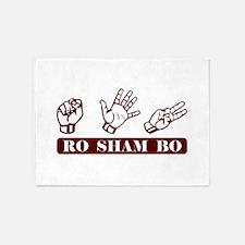 Ro Sham Bo 5'x7'Area Rug