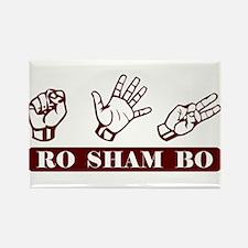 Ro Sham Bo Rectangle Magnet