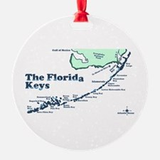 Florida Keys - Map Design. Ornament