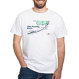 Key west Mens White T-shirts