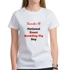 1218ct_roastsucklingpigday T-Shirt