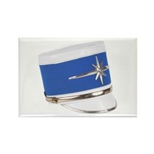 Marching Band Hat Rectangle Magnet