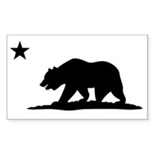 Cali Bear Black Decal