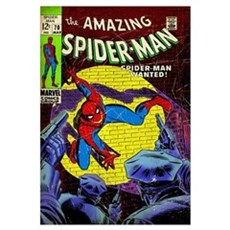 The Amazing Spider-Man (Spider-Man Wanted!) Framed Print