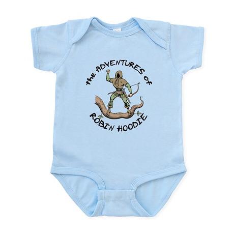 Robin Hoodie Infant Bodysuit