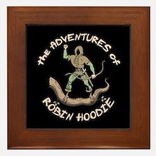 Robin Hoodie Framed Tile