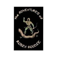 Robin Hoodie Rectangle Magnet (10 pack)