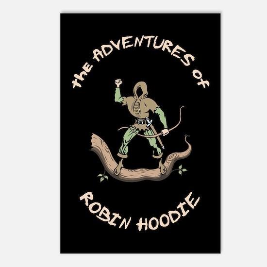 Robin Hoodie Postcards (Package of 8)