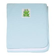 Cute Cartoon Frog Fully Rely On God F.R.O.G. baby