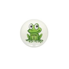 Frog Fully Rely On God F.R.O.G. Mini Buttons
