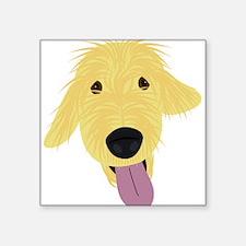 Goldendoodle Illustration Sticker