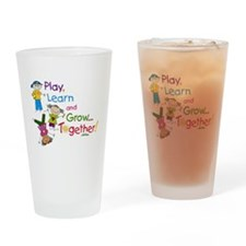 Play, Learn, Grow Together! Drinking Glass