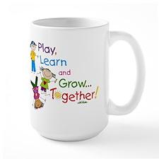 Play, Learn, Grow Together! Mug