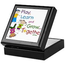 Play, Learn, Grow Together! Keepsake Box