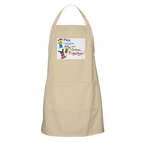 Play, Learn, Grow Together! Apron