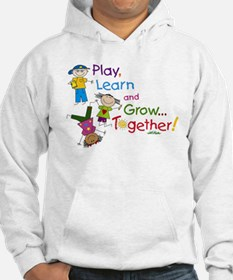 Play, Learn, Grow Together! Jumper Hoody