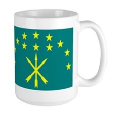 Circassian Israeli flag Mug