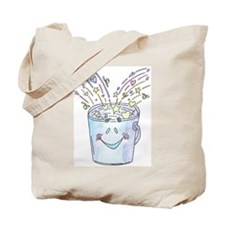 Happy Bucket Tote Bag