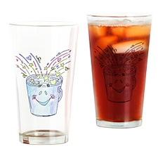 Happy Bucket Drinking Glass
