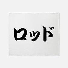 Rod_________025r Throw Blanket