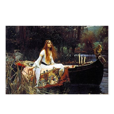 The Lady Of Shalott Postcards (Package of 8)