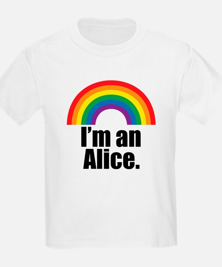 Alice Rainbow T-Shirt