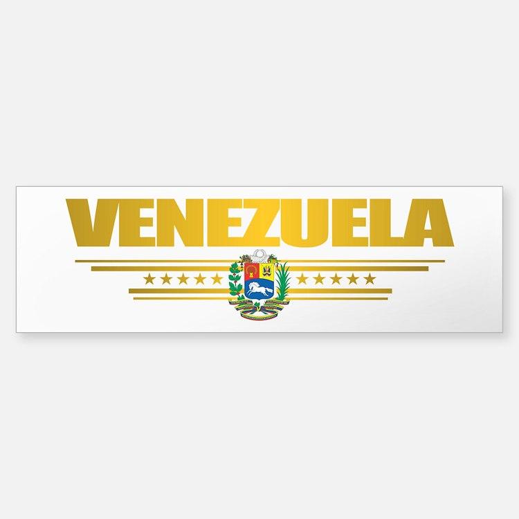 Flag of Venezuela Bumper Bumper Bumper Sticker
