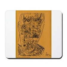cluttered mind Mousepad