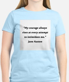 Austen - Courage Always Rises T-Shirt