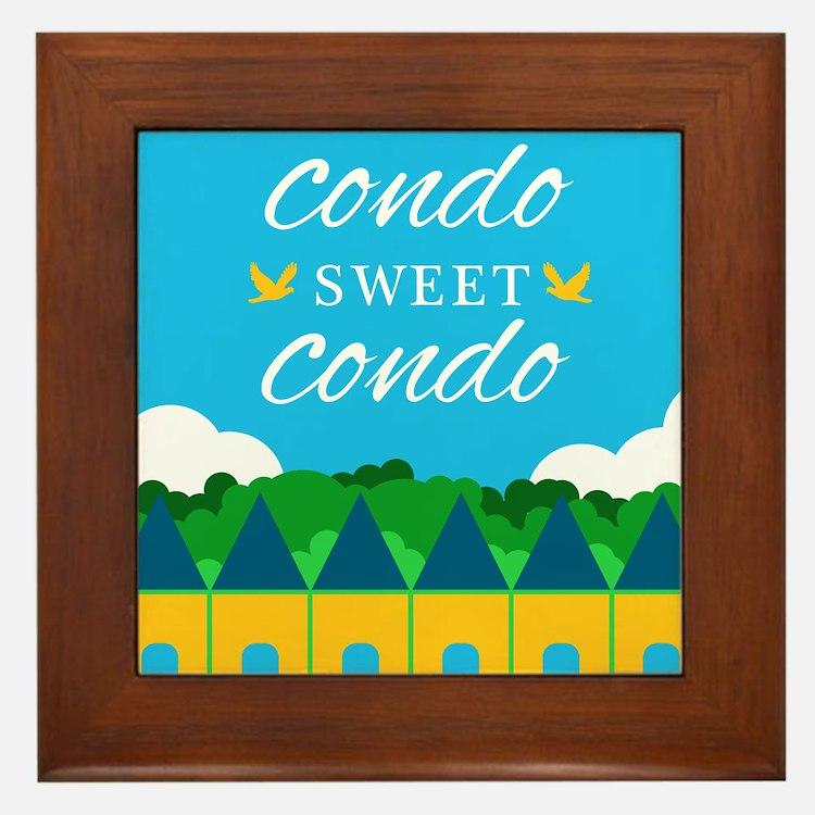 Condo Sweet Condo Framed Tile