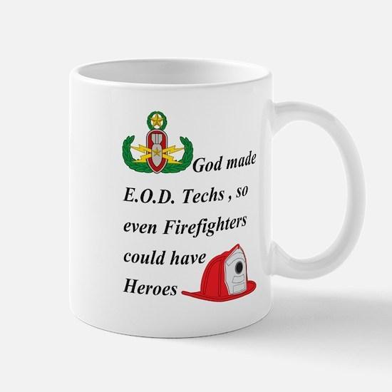 EOD - Firefighter hero Mug