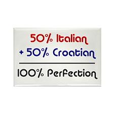 Italian & Croatian Rectangle Magnet