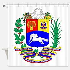 Venezuela COA Shower Curtain