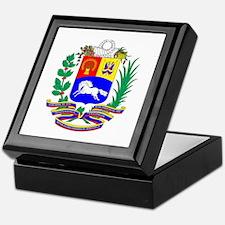 Venezuela COA Keepsake Box